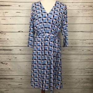 Leota Faux Wrap Dress Size 2L
